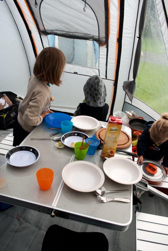 camping mit kindern