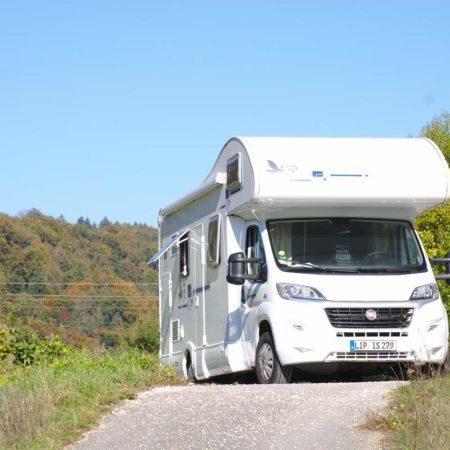 Wohnmobiltour Familienurlaub