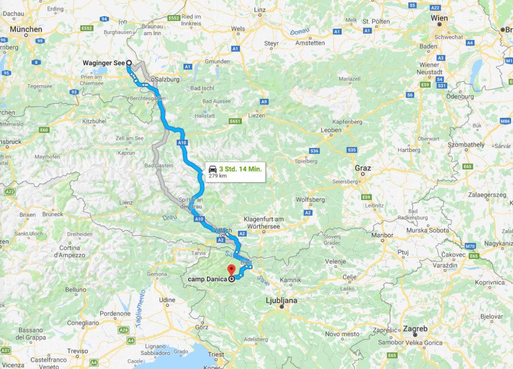 Plitvicer Seen - mit dem Wohnmobil und Kindern durch Kroatien 7