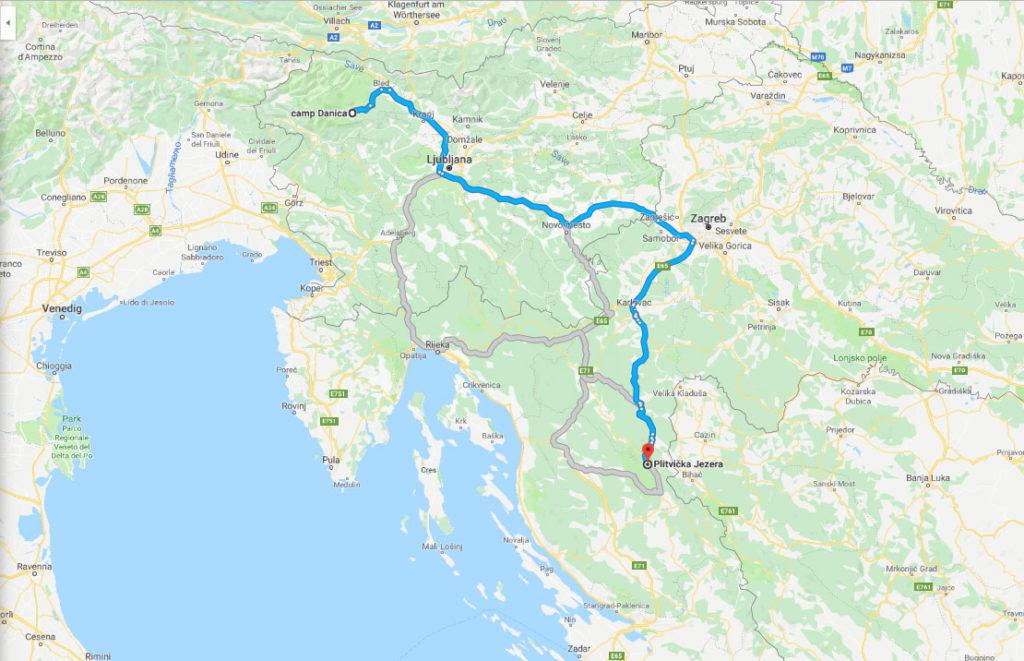 Plitvicer Seen - mit dem Wohnmobil und Kindern durch Kroatien 10