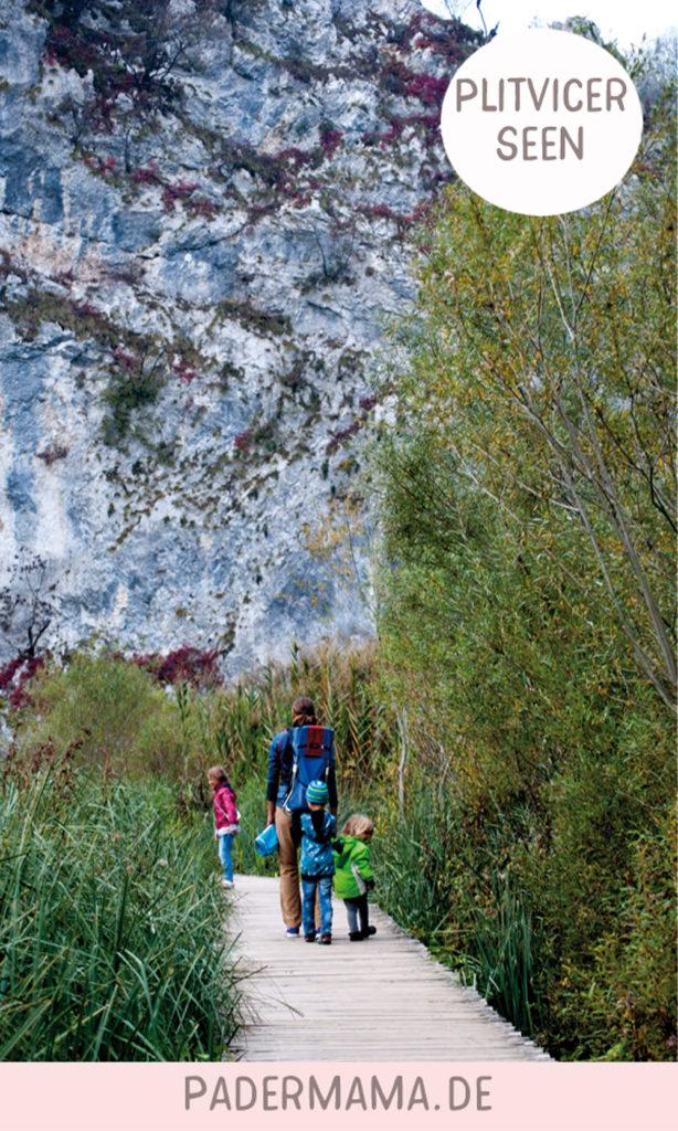 plitvicer seen mit kindern kroatien wohnmobil urlaub