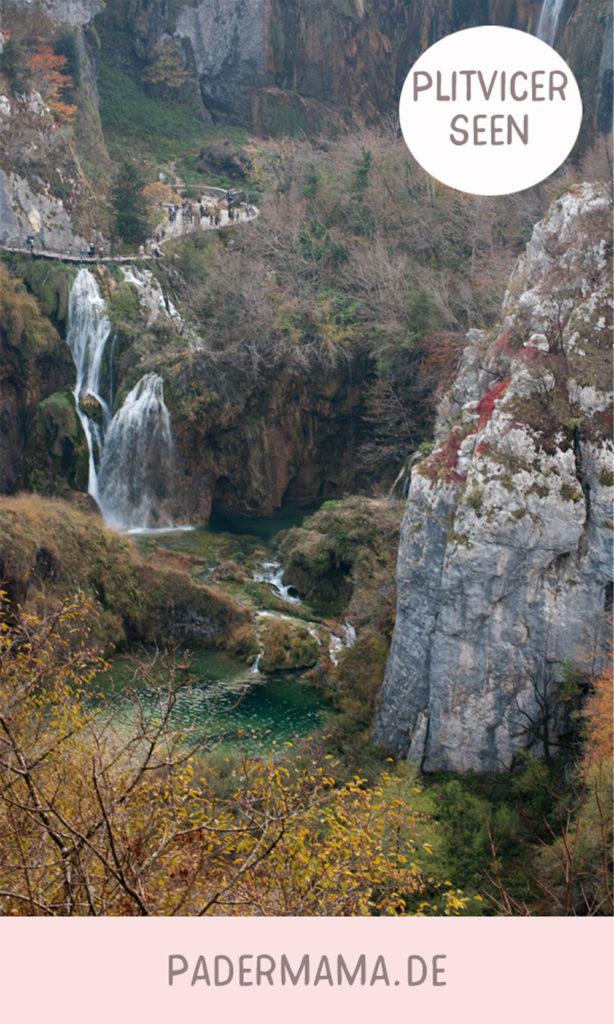 Plitvicer Seen - mit dem Wohnmobil und Kindern durch Kroatien 17