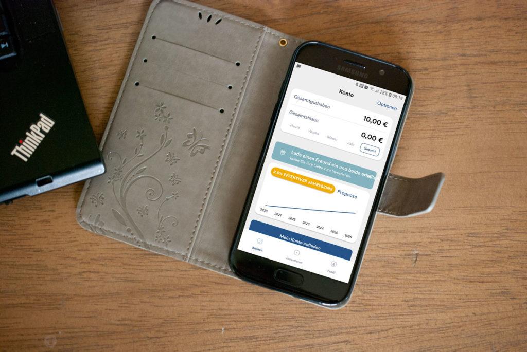 vermögensaufbau mit ibanwallet p2p kredit