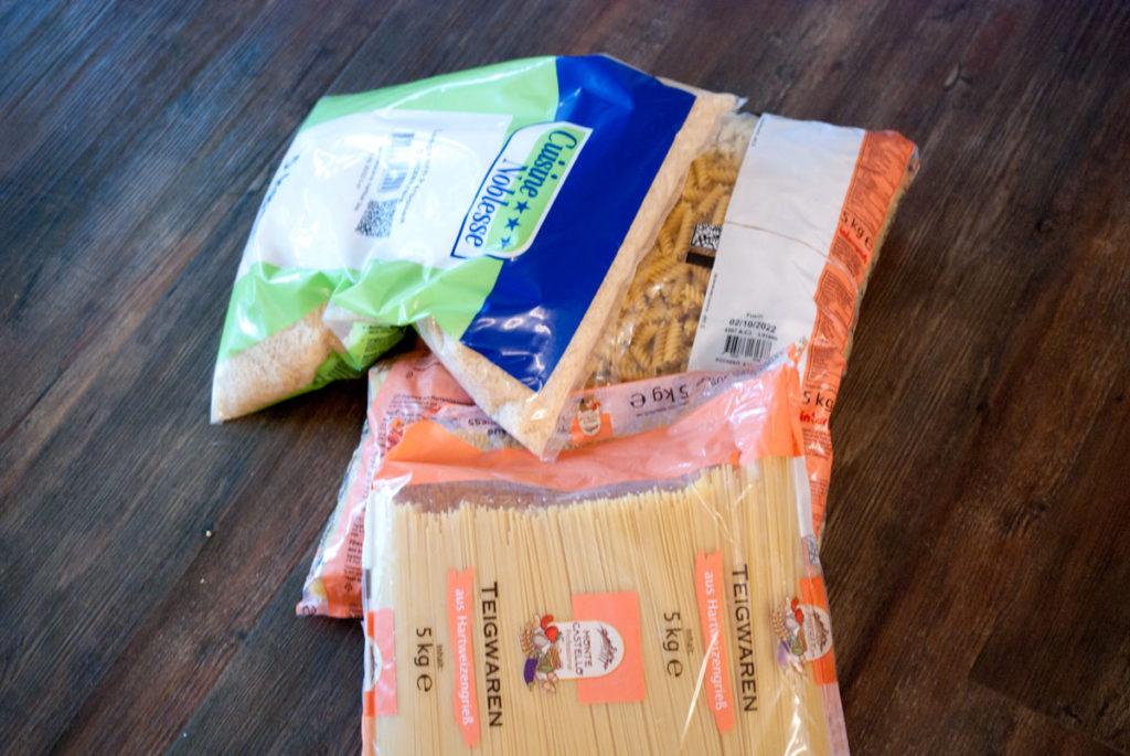 Lebensmittel Notfall Vorsorge