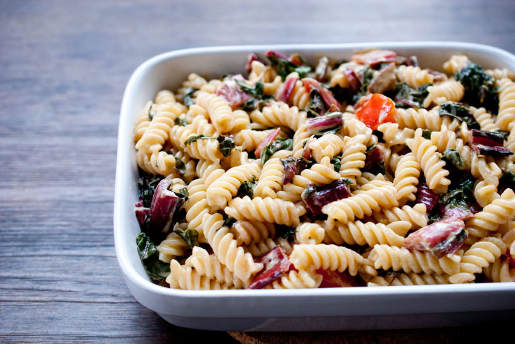 pasta mit mangold