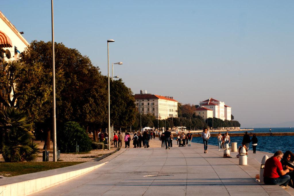 Uferpromenade in Zadar