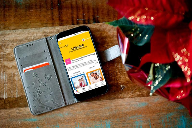 Unsere Corona-Weihnachten. Coronaler Jahresrückblick und eine Postkarte gegen das Virus. 8