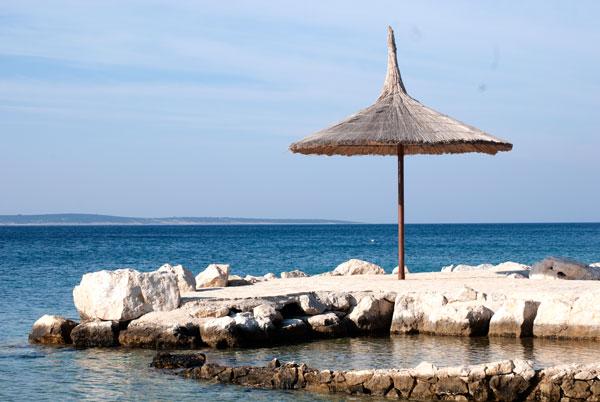 Insel Pag Urlaub mit Wohnmobil
